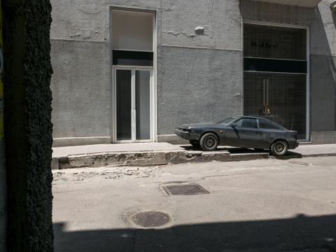 Schwarzes Auto, Tbilisi, 2015