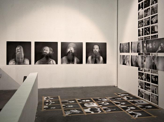 Pflicht und Kür, Installationsansicht Peter Oehlmann