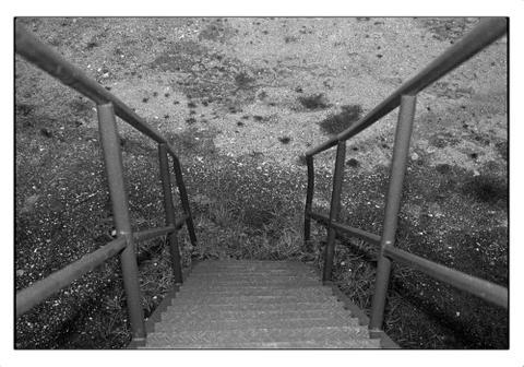 Treppe   bei Leipzig