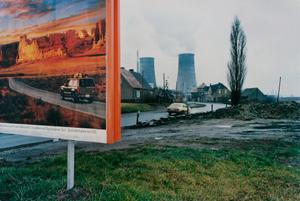 Billboard, Spergau bei Leuna, aus 'Bruchzeit',  1991–1992